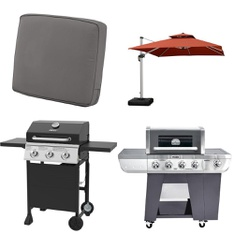 Pallet – 10 Pcs – Grills & Outdoor Cooking, Patio – Customer Returns – Backyard Grill, Classic Accessories, Cuisinart, PURPLE LEAF