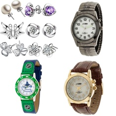 Pallet - 375 Pcs - Watches (NOT Wearable Tech), Earrings, Jewelry Storage, Bracelets - Customer Returns - George, Casio, Timex, Globlu