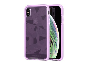 44 Pcs – Tech21 Evo Check for Apple iPhone X – Orchid – Like New, New – Retail Ready