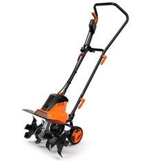 Pallet - 12 Pcs - Tacklife 18-Inch 13.5 Amp Electric Tiller with Removable Blade - Adjustable Wheels - Brand New - Retail Ready