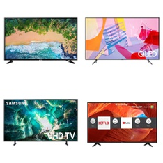 5 Pcs – LED/LCD TVs – Refurbished (GRADE A) – Samsung, SHARP