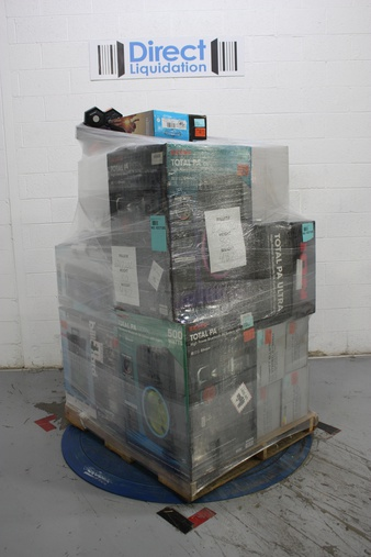 Pallet – 19 Pcs – Portable Speakers – Tested NOT WORKING – Blackweb, Ion, Singing Machine, Panasonic