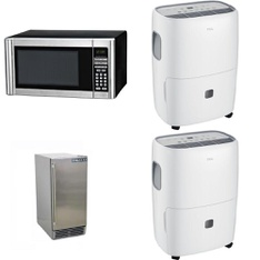 Pallet - 10 Pcs - Microwaves, Humidifiers / De-Humidifiers - Customer Returns - Hamilton Beach, TCL, Asbury Foodservice - In Network, HISENSE
