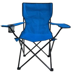 50 Pcs – Member's Mark Hard Arm Chair – Blue – New – Retail Ready