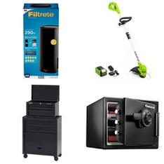 Pallet - 21 Pcs - Rugs & Mats, Accessories, Hardware, Storage & Organization - Customer Returns - Better Homes & Gardens, Select Surfaces, Quickie, SentrySafe