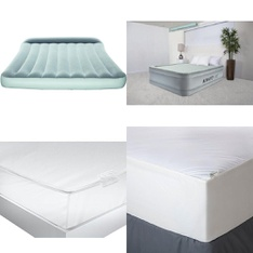 3 Pallets - 135 Pcs - Covers, Mattress Pads & Toppers, Camping & Hiking, Comforters & Duvets - Customer Returns - Mainstay's, Bestway, Aller-Ease