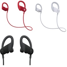 10 Pcs – PowerBeats High Performance Headphones (Tested NOT WORKING) – Models: MWNX2LL/A, MWNV2LL/A, MWNW2LL/A