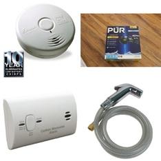 6 Pallets - 1321 Pcs - Hardware, Smoke Alarms & CO Detectors, Kitchen & Dining, Humidifiers / De-Humidifiers - Customer Returns - Kidde, Brinks, Brink's, PUR