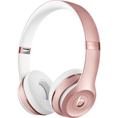 5 Pcs - Beats by Dr. Dre Solo3 Wireless Rose Gold On Ear Headphones MNET2LL/A - Refurbished (GRADE A)