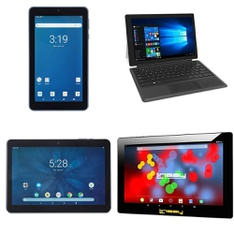 19 Pcs – Tablets – Tested NOT WORKING – Onn, RCA, LINSAY