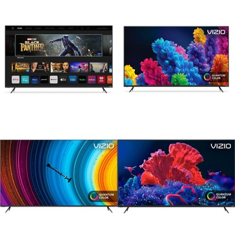 36 Pcs – LED/LCD TVs – Refurbished (GRADE A, GRADE B) – VIZIO