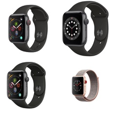 40 Pcs – Apple Watch – Refurbished (GRADE D) – Models: MQK72LL/A, MU6D2LL/A, MTGH2LL/A, MWV82LL/A
