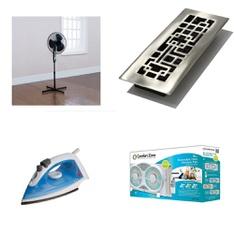Pallet - 77 Pcs - Fans, Laundry, Humidifiers / De-Humidifiers - Customer Returns - Mainstay's, Rival, Bionaire, Sunbeam