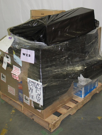 3 Pallets – 277 Pcs – Accessories, Other, Receivers, CD Players, Turntables, Audio Headsets – Customer Returns – onn., Onn, SteelSeries, Logitech