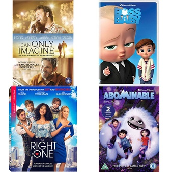 150 Pcs – Movies & TV Media – New – Retail Ready – Lionsgate, Universal Studios, DreamWorks, Sony Pictures Home Entertainment