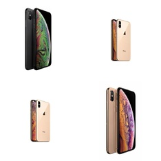 8 Pcs - Apple iPhone X/XR/XS/Xs Max - Refurbished (GRADE C - Unlocked) - Models: MT592LL/A, MT8W2LL/A, MT962LL/A, MT612LL/A
