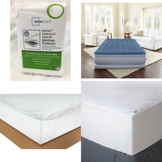 Pallet – 45 Pcs – Covers, Mattress Pads & Toppers, Comforters & Duvets – Customer Returns – Mainstay's, Mainstays, AllerEase, Beautyrest