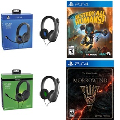 Pallet – 353 Pcs – Sony, Audio Headsets – Customer Returns – PDP, Electronic Arts, Ubisoft, Nordic Games