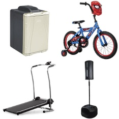 Pallet – 9 Pcs – Exercise & Fitness, Cycling & Bicycles – Customer Returns – Weslo, Coleman, MGA Entertainment, MARVEL SPIDERMAN