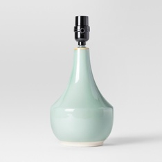 194 Pcs - Project 62 Montreal Wren Small Lamp Base - Blue, Lamp with Energy Efficient Light Bulb - New - Retail Ready