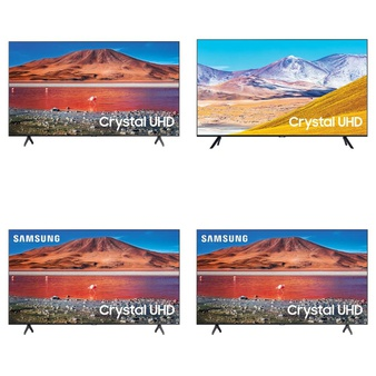 60 Pcs – LED/LCD TVs – Refurbished (GRADE A, GRADE B) – Samsung