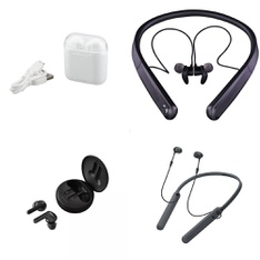 Pallet – 523 Pcs – In Ear Headphones, Microsoft, Lamps, Parts & Accessories, Sony – Customer Returns – Onn, Blackweb, LG, Microsoft