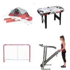 Pallet - 12 Pcs - Outdoor Sports, Camping & Hiking - Customer Returns - MD Sports, Ozark Trail, Road Warrior, Exerpeutic