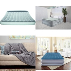 Pallet - 28 Pcs - Comforters & Duvets, Camping & Hiking, Mattresses - Customer Returns - Bestway, Mainstays, Beautyrest