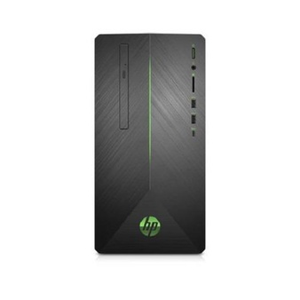 10 Pcs – HP 690-0013w Pavilion Gaming Desktop Tower, AMD Ryzen 5 2400G, NVIDIA GeForce GTX 1050 Graphics, 1TB HDD, 8GB SDRAM, DVD, Mouse and Keyboard, Shadow Black with Green LED Lighting, 690-0013w – Refurbished (GRADE A)