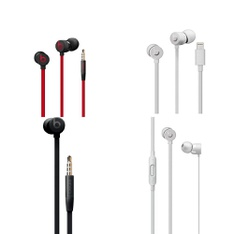 10 Pcs – Beats Urbeats 3 Headphones – Refurbished (GRADE A, GRADE B)