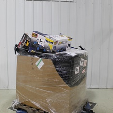 6 Pallets – 43 Pcs – Toys – Vehicles, Trains & RC, Vehicles, Action Figures – Customer Returns – New Bright, Action Wheels, Huffy, Adventure Force