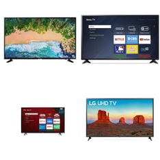 Truckload – 20 Pallets – 178 Pcs – TVs – Tested Not Working (Cracked Display) – Samsung, LG, RCA, TCL