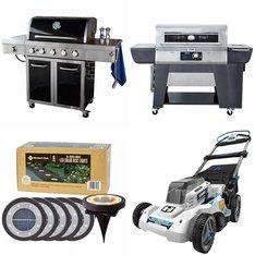 Pallet - 8 Pcs - Grills & Outdoor Cooking, Patio & Outdoor Lighting / Decor - Customer Returns - Member's Mark, Sun Joe
