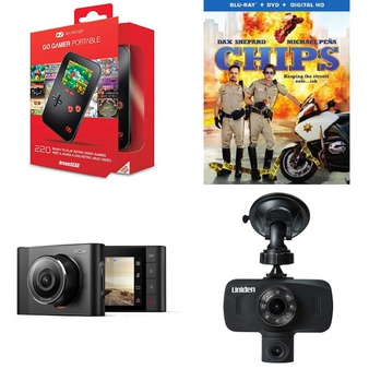 Pallet – 629 Pcs – Other, Back up & Dashboard Cameras, Accessories, Sony – Customer Returns – DREAMGEAR, Anker, RCA, Warner Brothers