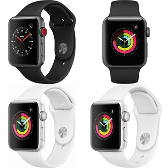 300 Pcs – Apple Watch Gen 3 – Refurbished (GRADE A) – Models: MTGT2LL/A, MTF02LL/A, MTF22LL/A, MTEY2LL/A