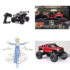 Pallet – 42 Pcs – Vehicles, Trains & RC, Action Figures, Dolls – Customer Returns – New Bright, World Tech Toys, The Fast and the Furious, Hot Wheels