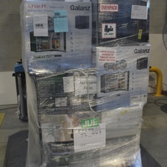 Pallet - 9 Pcs - Bar Refrigerators & Water Coolers, Air Conditioners, Pressure Washers - Customer Returns - Galanz, Karcher