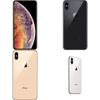 35 Pcs – Apple iPhone Xs Max – Refurbished (GRADE A – Unlocked) – Models: MT5F2LL/A, MT5C2LL/A, MT5A2LL/A, MT5D2LL/A