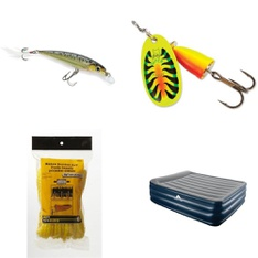 Pallet - 196 Pcs - Fishing & Wildlife, Camping & Hiking, Outdoor Sports - Customer Returns - Rapala, Ozark Trail, Intex, Coleman