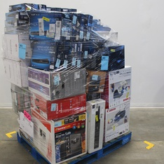 Pallet - 43 Pcs - Home Audio & Theater - Customer Returns - Philips, LG, Canon, EPSON