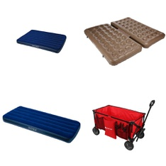 Pallet - 71 Pcs - Camping & Hiking, Outdoor Sports, Boats & Water Sports - Customer Returns - Ozark Trail, Intex, Coleman, Dolfino Pro