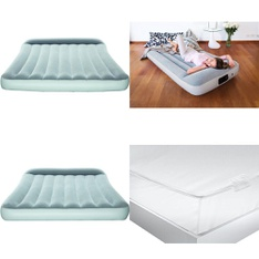 6 Pallets - 224 Pcs - Camping & Hiking, Covers, Mattress Pads & Toppers, Comforters & Duvets, Mattresses - Customer Returns - Bestway, Aller-Ease, American Textile, Mainstays