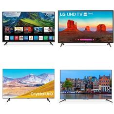 12 Pcs – LED/LCD TVs – Refurbished (GRADE A) – VIZIO, JVC, SCEPTRE, Samsung