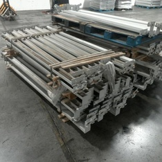 25 Pallets - 353pcs - Warehouse Racking - Warehouse Racking - Used Fixed Assets