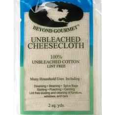 26 Pcs - Beyond Gourmet HIC-044 Extra-fine Unbleached Cheesecloth 100 Percent Cotton, 2-Square Yards - New - Retail Ready