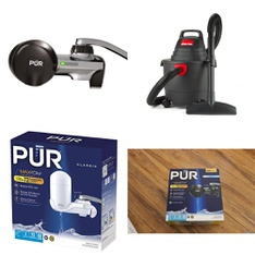 3 Pallets - 382 Pcs - Kitchen & Dining, Hardware, Smoke Alarms & CO Detectors, Vacuums - Customer Returns - PUR, Kaz, Kidde, Shop-Vac