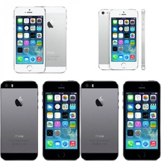 CLEARANCE! 5 Pcs - Apple iPhones - Refurbished (GRADE A, GRADE B - Unlocked) - Models: ME372LL/A, ME305LL/A, ME342LL/A, ME341LL/A