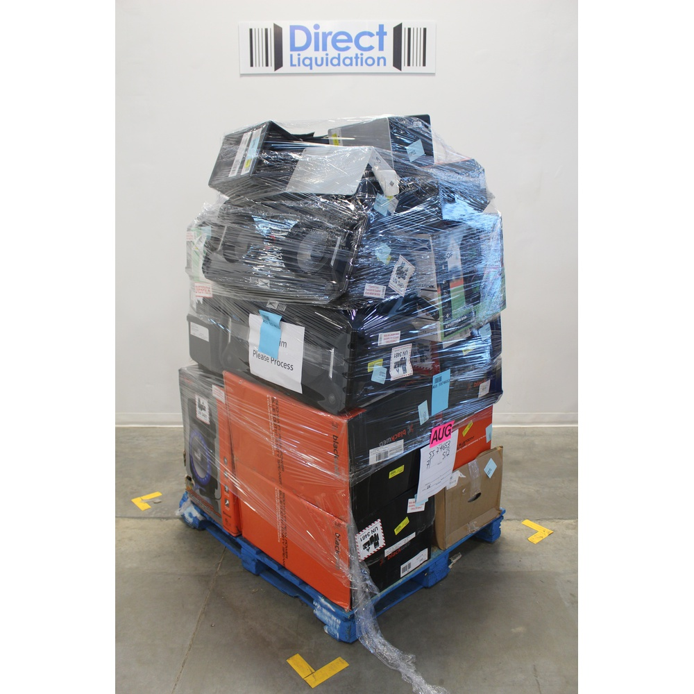 Pallet - 19 Pcs - Portable Speakers - Customer Returns - Blackweb, Ion,  Altec Lansing