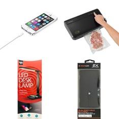 3 Pallets - 303 Pcs - Accessories, Other, Power Tools, Trimmers & Edgers - Customer Returns - Hyper Tough, Apple, Blackweb, Onn