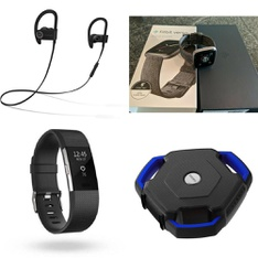 CLEARANCE! 89 Pcs - Fitbit, Point & Shoot, In Ear Headphones, Portable Speakers - Refurbished (BRAND NEW, GRADE A, GRADE B) - FitBit, Beats by Dr. Dre, Sony, Ion